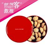 【糖村】RC04-嫣紅鐵盒(貝比曲奇-特濃奶香24入)*5