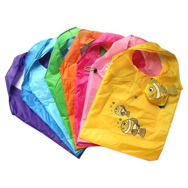 可愛動物環保購物袋(1入) 款式隨機出貨【小三美日】