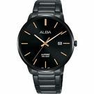 ALBA 雅柏 城市情人時尚手錶-黑/40mm VJ42-X260SD(AS9H35X1)