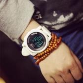 台灣現貨 手錶 情侶手錶 正韓多功能大錶盤休閒運動個性電子手錶