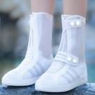 鞋套防水防滑硅膠成人防滑加厚兒童雨鞋套雨天防雨耐磨底雨靴腳套 樂活生活館