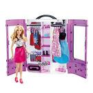《 MATTEL 》芭比閃亮造型衣櫃組 ╭★ JOYBUS玩具百貨