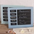 店鋪裝飾創意值日小黑板理髮店咖啡廳餐廳家居復古做舊掛式公告板