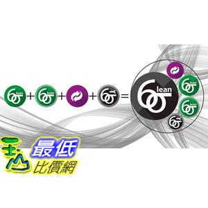 [7美國直購] 2018 amazon 亞馬遜暢銷軟體 Learn Lean Six Sigma Green Black Belt Combo The Easy Way Now, Certification