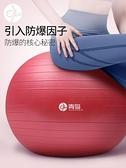 瑜伽球 青鳥瑜伽球加厚防爆大龍球感統訓練球平衡球寶寶訓練 風馳