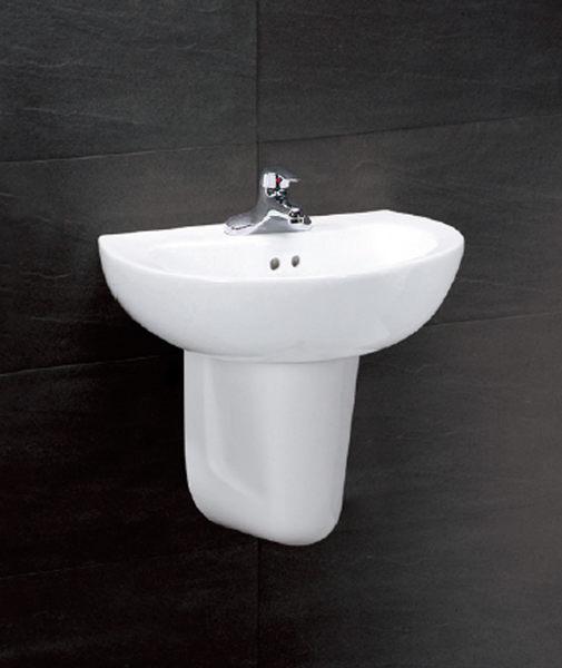 《修易生活館》 凱撒衛浴 CAESAR 面盆系列 面盆 L2150 D 半瓷腳 P2441 龍頭 B262 C
