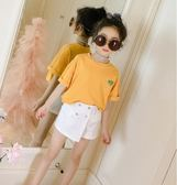 女童短袖t恤兒童夏裝女大童半袖上衣新款童裝打底衫韓版體恤