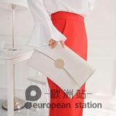 手拿包/小包手抓包信封包斜跨鍊條女包「歐洲站」