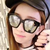 【TT】墨鏡女 明星款新款網紅圓臉韓版優雅眼鏡圓形個性太陽鏡女士