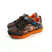 大童款 SKECHERS 97501L/BKLM 輕量透氣 慢跑鞋《7+1童鞋》B912 橘色