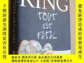 二手書博民逛書店法文原版罕見16開 Tout est fatal (524P)Y