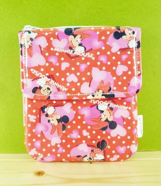 【震撼精品百貨】Micky Mouse_米奇/米妮 ~收納包-紅點點