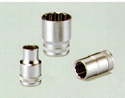 12角 套筒 短型 四分 1/2 *16mm