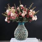 歐式花瓶擺件客廳插花桌面電視櫃干花花器奢華餐桌酒櫃裝飾品擺設NMS【名購新品】