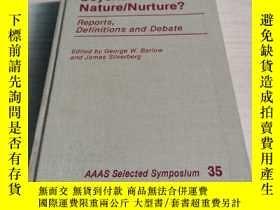 二手書博民逛書店Sociobiology:罕見Beyond Nature-Nurture (Aaas Selected Sympo