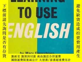 二手書博民逛書店LEARNING罕見TO USE ENGLISH book 1