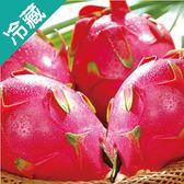 【台灣】彰化二林紅肉火龍果3粒(350g±10%/粒)【愛買冷藏】