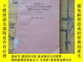 二手書博民逛書店Guide罕見to the use of libraries a