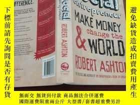 二手書博民逛書店How罕見to be a Social Entrepreneur:Make Money and Change th