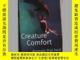 二手書博民逛書店英文原版罕見Creature Comfort:Animals T
