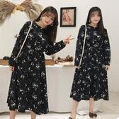 新品加肥加大顯瘦碎花裙子中大尺碼女裝200斤胖mm連身裙【842】