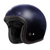 【東門城】ASTONE SPORSTER II 碳纖維 原色 藍 復古帽