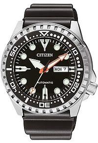CITIZEN 星辰深海悍將機械潛水錶(NH8380-15E)-黑 台灣總代理公司貨 保固一年