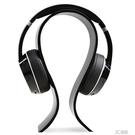 水晶頭戴式耳機展示支架U型立式展架耳麥掛架加厚版 3C優購