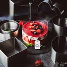 304不銹鋼象本加高慕斯圈4寸6/8寸蛋糕模具提拉米蘇芝士烘焙工具 【618特惠】