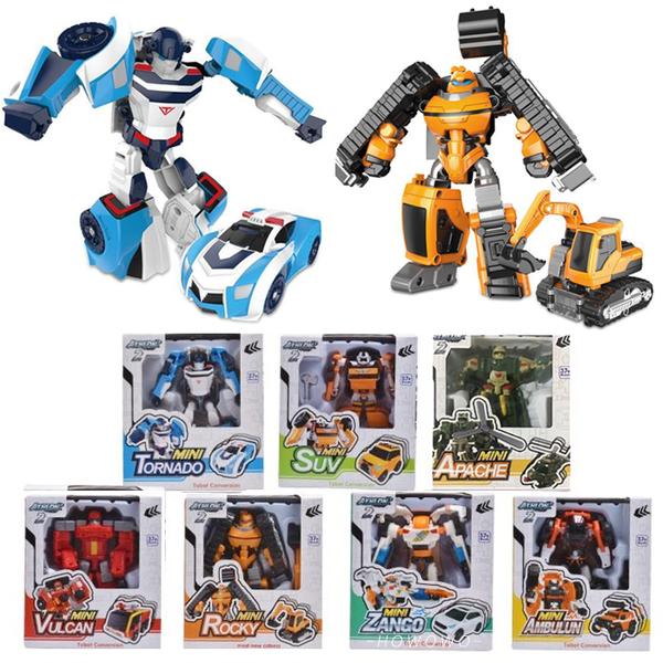 ROBOT 二代 機器戰士 兒童玩具 模型玩具 變形 汽車 機器人 禮物 3325 好娃娃
