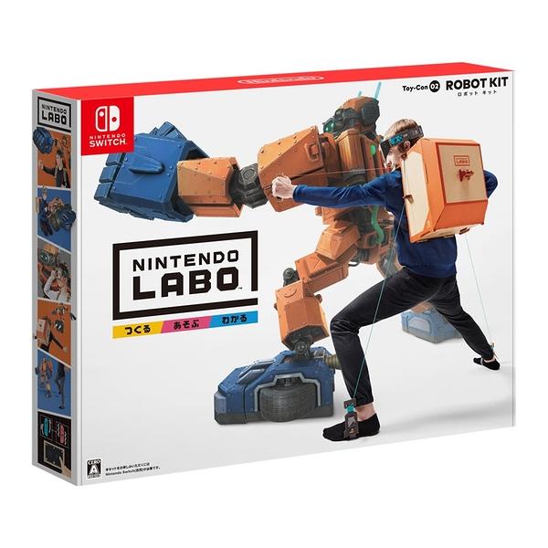 NS 任天堂實驗室 Labo Toy-Con 02: Robot Kit (購買此商品前請詳閱說明細項)