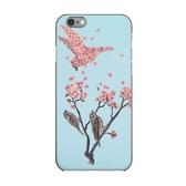[富廉網] A-Boutik iPhone 6s 4.7吋防刮彩繪保護殼/ 綻放/ Blossom-Bird/ TerryFan