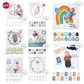 加拿大 lulujo 寶寶成長包巾卡片組 多款可選