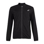 Asics [2011A594-001] 男 運動 外套 薄款 反光 透氣 休閒 慢跑 訓練 穿搭 亞瑟士 黑