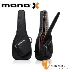 mono吉他袋   MONO M80 新款民謠吉他袋 Sleeve 黑色/輕量木吉他袋-軍事化防震防潑水等級 【M80-SAD-BLK】