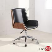 邏爵LOGIS-皮革主管椅 護頸護肩護腰 電腦椅 事務椅 工作椅 電視劇 辦公坐椅 書房和室 BA50