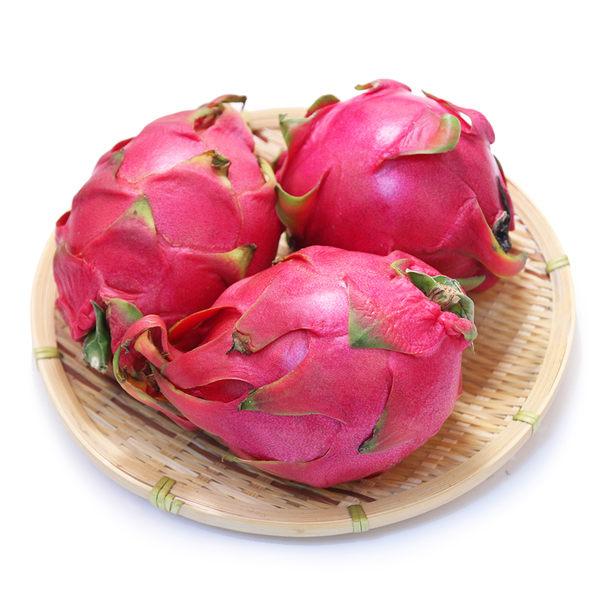 【免運】鮮甜紅肉火龍果*1箱(10台斤/約12-15顆/箱)