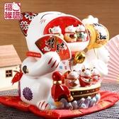 全館83折 福緣貓 特大號開運大嘴招財貓擺件 店鋪開業創意禮品陶瓷儲蓄罐