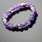【喨喨飾品】紫水晶手鍊智慧之石A180...