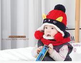 聖誕交換禮物 兒童帽子寶寶帽子嬰兒帽子冬季男童毛線帽刷毛女童針織帽小孩冬帽