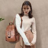 後背包九兒真皮雙肩包女2018新款韓版百搭潮旅行女士小背包軟皮時尚書包-大小姐韓風館