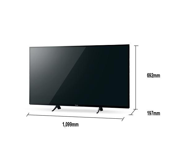《Panasonic 國際牌》49吋 真•自然6原色 4K液晶電視 TH-49JX750W (含視訊盒)(安裝另計)