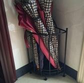 歐式創意落地式家用雨傘架酒店簡約鐵藝雨傘桶門廳收納架放傘架子