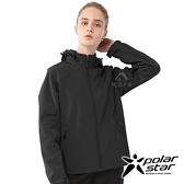 【PolarStar】女 Soft Shell保暖外套『黑』P20210 休閒 戶外 登山 吸濕排汗 冬季 保暖 禦寒