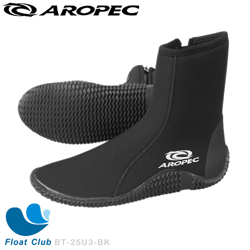 【AROPEC】5mm Neoprene 長筒潛水膠底防滑水鞋 Ferry-渡輪