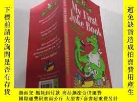 二手書博民逛書店My罕見First Joke Book我的第一本笑話書Y212829