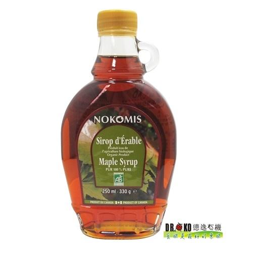 DR.OKO德逸 諾科米斯原住民有機楓糖漿(濃醇口味) 250ml/瓶