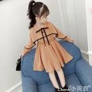 女童連身裙2021新款春裝兒童洋氣長袖公主裙子秋季小女孩8歲9衣服 小天使 99免運