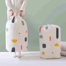 【圓筒袋大號】可水洗PEVA衣服棉被收納袋 整理袋 搬家袋 托運袋 束口旅行袋 抽繩行李袋