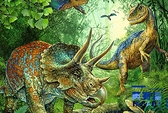 500片拼圖木質成人拼圖減壓大型益智玩具恐龍世界【英賽德3C數碼館】